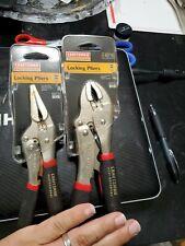 VTG Craftsman PROFESSIONAL Locking Pliers 2PC NOS USA 45716,45716 w/ RUST NEW
