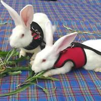 Hamster Rabbit Harness And Leash Set Ferret Guinea Pig Small Animal Pet Walk LE