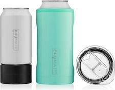 Hopsulator Trio 3-in-1 Stainless Steel Insulated Can Cooler by Brumate, Aqua