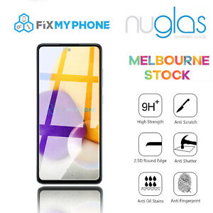Nuglas For Samsung Galaxy A72 / A52 Tempered Glass Screen Protector  Cover