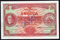 Portugal Portuguese Angola 50 escudos  50$00 1921  P-60  SPECIMEN   UNC
