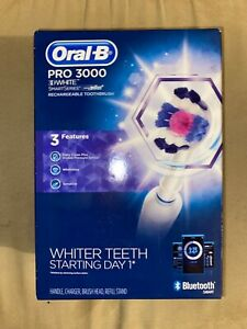 Oral-B Pro 3000 3D White Smart Series Bluetooth Brand New FAST FREE SHIPPING