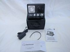 ClearSounds ClearRing Amplified Telephone Ring Signaler CR200 Brand New in Box