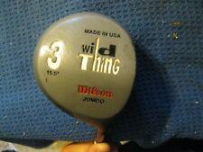 Wilson Wild Thing JUMBO Fairway 3 wood 15.5* UST Wilson WildThing Graphite Shaft