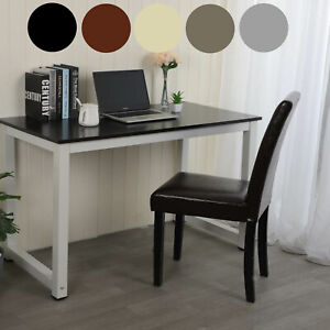 PC Computer Desk Writing Study Table Office Home Workstation Wooden Metal