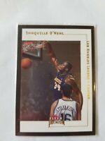 2001-02 Fleer Premium Shaquille O'neal Base Card #132 LA Lakers