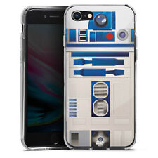 Apple iPhone 8 Silikon Hülle Case - R2D2 Closeup