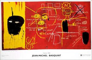 Jean Michel BASQUIAT Florence Pop Art Poster 23-3/4 x 35-1/2