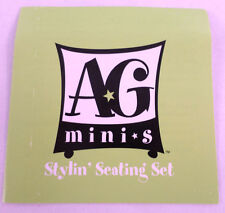 American Girl Mini Illuma Room Stylin Seating Green Pamplet Insert Booklet