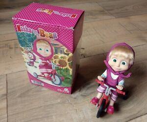 Masha et Michka - Poupée Masha et son tricycle - Hauteur 12 cm - Simba