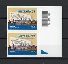 Italia : C/Barre 1617  Gazzetta di Mantova  coppia   MNH**  del  1.09.2014