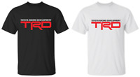 Toyota Racing TRD Graphic T-Shirt Black White S-6XL Unisex Tee Short 100% Cotton