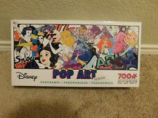 New Ceaco Disney Pop Art Princess 700 piece panoramic jigsaw puzzle
