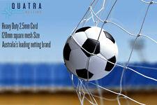 Heavy Duty Premium : Junior Size 5.15m x 2.1m Soccer Goal Net - FREE SHIP