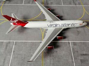 Virgin Atlantic B747-400 G-VBIG 1/200 by Gemini Jets G2VIR766 *READ DESCRIPTION*