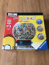 The Simpsons 240 Piece Puzzleball. Ravensburger Jigsaw Puzzle 3D
