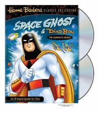 Space Ghost And Dino Boy: Complete Series (DVD, 2 DISC) 7 HOURS ! RARE !! 1960'S
