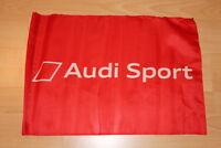 Audi Sport RS A 2 3 4 5 6 Flagge Fahne Banner Wimpel Flagg Werkstatt Werbung