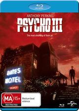 Psycho Iii (2016, REGION ALL Blu-ray New)