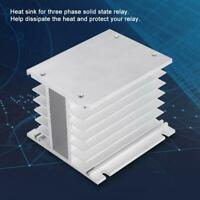 Aluminum Alloy Three Phase Heat Sink SSR Dissipation Solid State Relay Heatsink