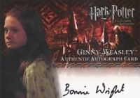 Harry Potter and the Prisoner of Azkaban Bonnie Wright Autograph Card