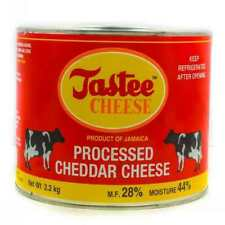 jamaican tastee cheese processed vitamins nutricious cheddar cheese 5lbs