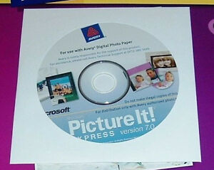 NEW MICROSOFT Picture It 7 EXPRESS photo  XP Windows 8 7 10-32 bit edition only