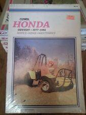 1977-1984 Honda Odyssey Service Manual - NEW