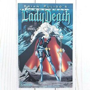 Medieval Lady Death #4D Avatar Press 2005 Premium Cover, Brian Pulido, Di Amorim