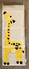3 Sprouts Giraffe Hanging Wall Organizer- Storage for Nursery and Changing Table