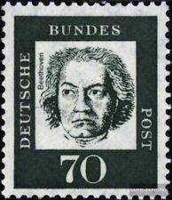 BRD (BR.Deutschland) 358yb R mit Zählnummer postfrisch 1961 Bedeutende Deutsche
