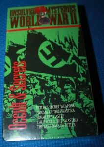 VHS Movie:Unsolved Mysteries of World War II: Occult & Secret New in Shrink Wrap
