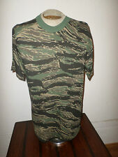 U.S MILITARY ARMY STYLE ASIAN TIGER STRIPE T-SHIRT LARGE