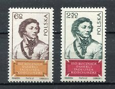 35774) POLAND 1967 MNH** Tadeusz Kosciusko 2v. Scott#