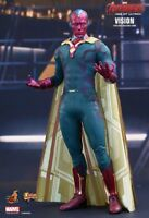 """(US) Hot Toys 1/6 Marvel Avengers Age of Ultron MMS296 Vision 12"""" Figure"""