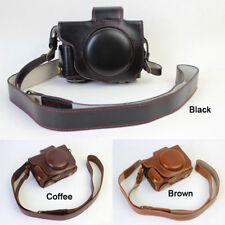 New Design Leather Camera case bag Grip strap for Canon POWERSHOT G5X G5 X