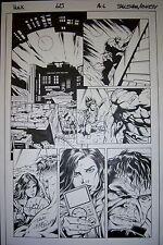 Original Comic Art HULK #623, pg. 6 Dale EAGLESHAM & Andrew HENNESSY
