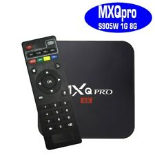 MXQ 4K pro Quad Core HDMI Wif iptv latin and more