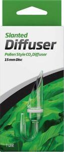Seachem Glass Slanted Diffuser Pollen 15mm Disc