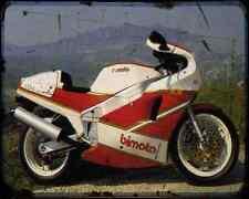 Bimota Yb4 88 1 A4 Metal Sign Motorbike Vintage Aged