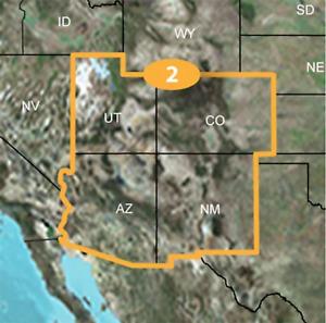 Garmin TOPO U.S. 24K SOUTHWEST Maps GPS MicroSD Data Card USA Topographic Region