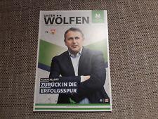 Programm VfL Wolfsburg - VfB Stuttgart 15/16