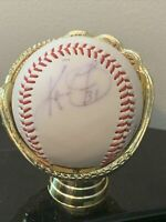 Kevin Foster Signed Autographed Baseball Cubs Phillies Rangers