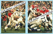 11x14 Chiefs Vikings SUPER BOWL Photo Osborn Buchanan