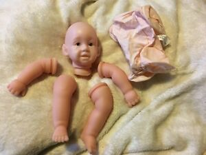 """Elf Giggles Fairy Pointed Ears Micro Reborn Baby Doll Kit 12"""" + Body Pat Secrist"""