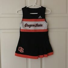 Oregon State Beavers (Size 18M) Cheerleader Cheer Outfit Dress Adidas