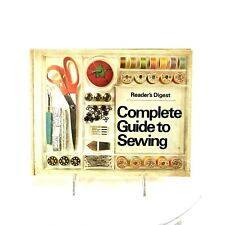 New listing Vintage Readers Digest Complete Guide To Sewing Hardcover Book 1976