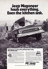 1972 JEEP WAGONEER  ~  RARE SMALLER SIZE (6X9) PRINT AD