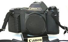 CANON T50 35MM SLR FILM CAMERA BODY, STRAP. (1023011)