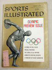 SPORTS ILLUSTRATED 1956 NOVEMBER 19 OLYMPIC PREVIEW ISSUE
